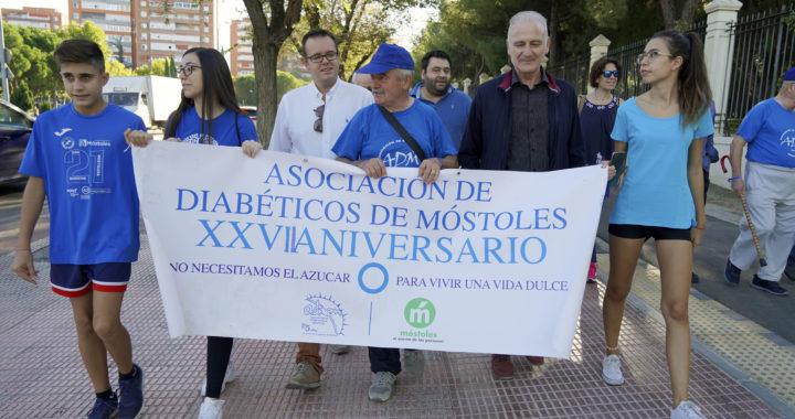 La Asociación de Diabéticos de Móstoles celebró una jornada deportiva para fomentar la prevención contra la enfermedad