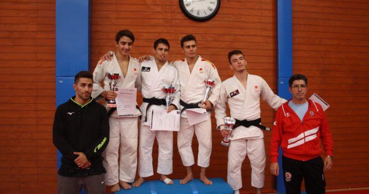 La AJM Judo Móstoles logra clasificar a ocho judokas para el Campeonato de España Senior