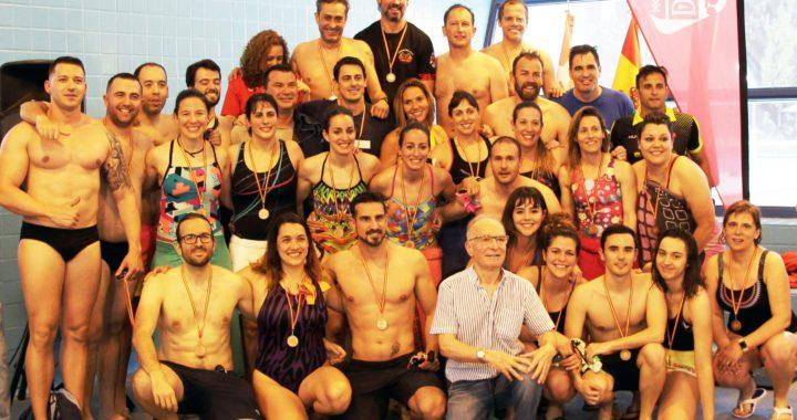La piscina Las Cumbres de Móstoles acogió el Festival Estilos Master de Natación de la temporada 2019/20