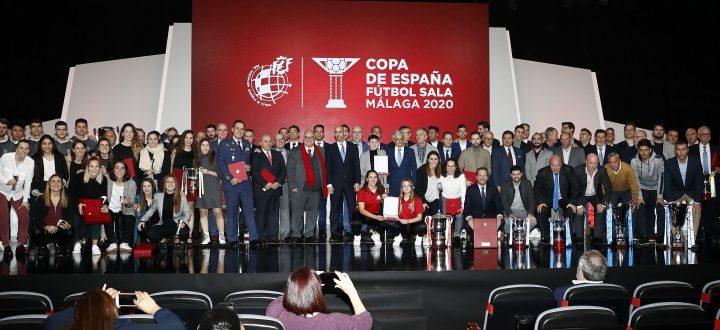El FS Ciudad de Móstoles fue galardonado en la Gala de Fútbol Sala de la RFEF