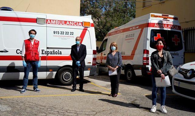 Cruz Roja Móstoles dedica su Día Mundial a los voluntarios