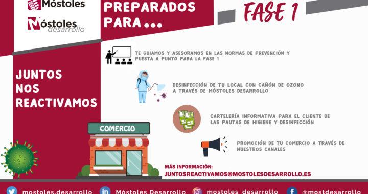 LA CIUDAD DE MÓSTOLES ENTRA EN LA FASE-1