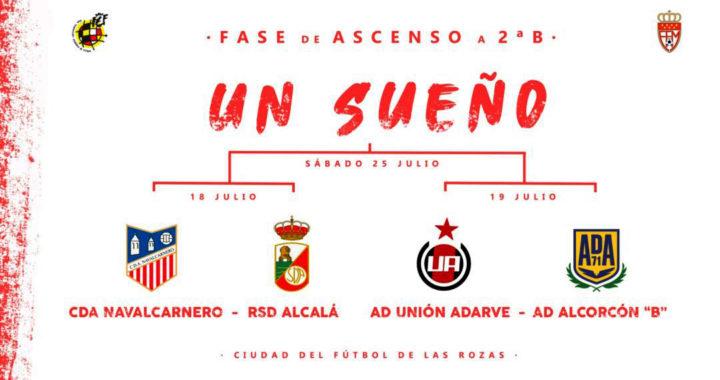 La Ciudad de Fútbol de la RFEF en Las Rozas acoge el play off madrileño de Segunda B