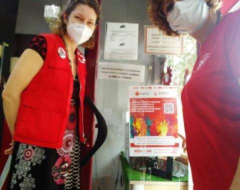 Sinergias Asociación y Cruz Roja Móstoles se alían para combatir las consecuencias de la crisis del Coronavirus