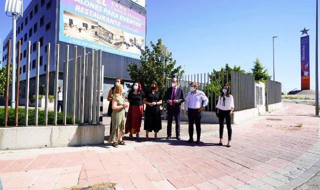 La Alcaldesa Noelia Posse agradece al Hotel Ciudad de Móstoles su labor durante la emergencia sanitaria