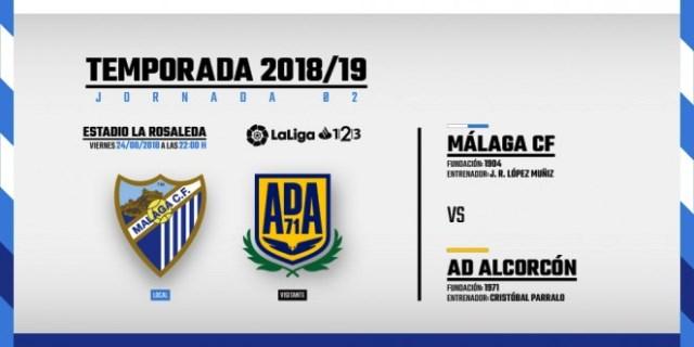 El Málaga se impone ante el Alcorcón por 2 goles a 0 y sella la permanencia en la Segunda División.