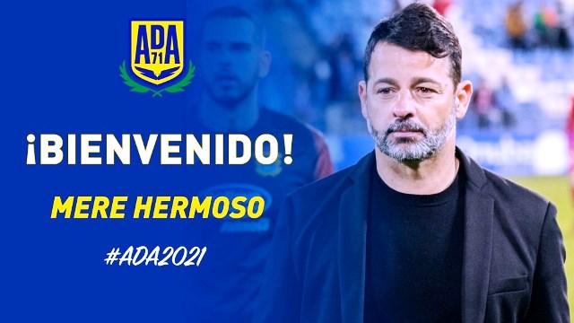 Mere Hermoso, nuevo entrenador de la A.D. Alcorcón