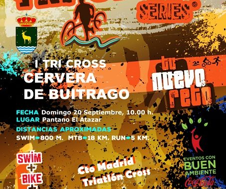 Tri Cross series – Cervera de Buitrago – Campeonato de Madrid de Triatlón Cross