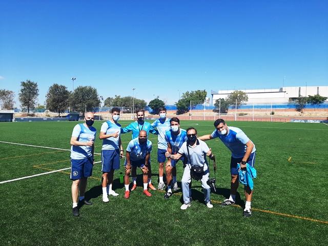 Vuelta al trabajo del primer equipo del CD Móstoles URJC