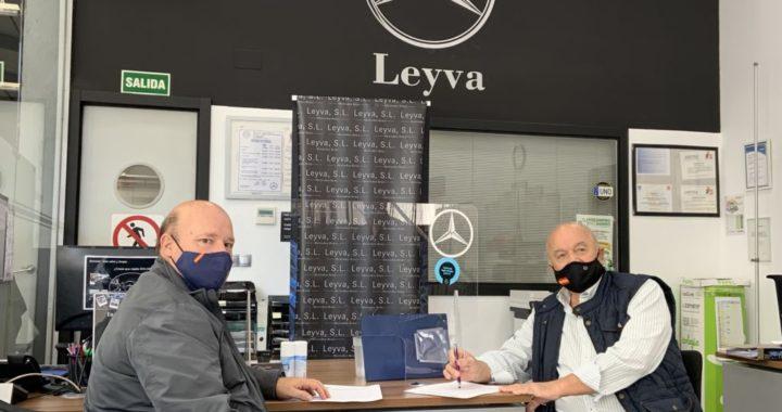 """Mercedes-Benz Leyva y Ciudad de Móstoles FS """"creciendo juntos"""""""