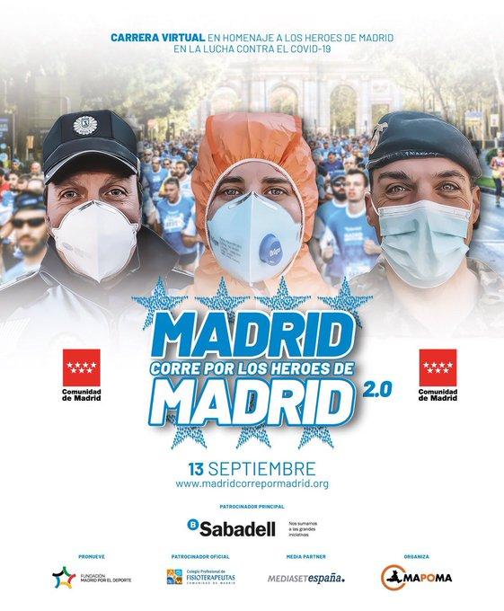 Madrid corre por los Heroes