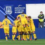 El Alcorcón derrota al Tenerife en el Santo Domingo por 2 goles a 0