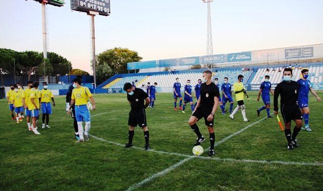 """""""Goles enmascarados"""" en el Estadio Municipal el Soto de Móstoles"""