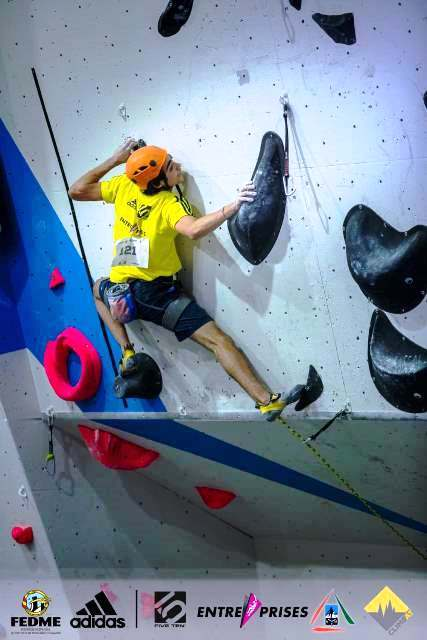 Alejandro Rivas, escalador con futuro olímpico
