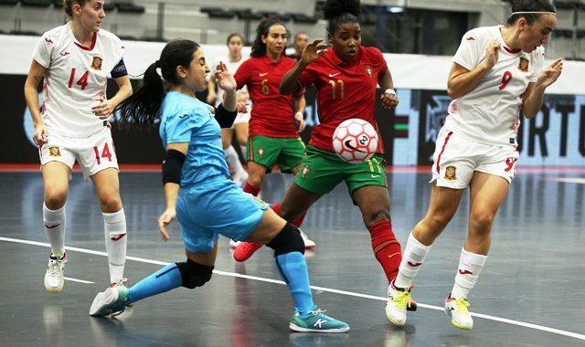España empata ante Portugal dejando muy buenas sensaciones tras diez meses sin competir (3-3)