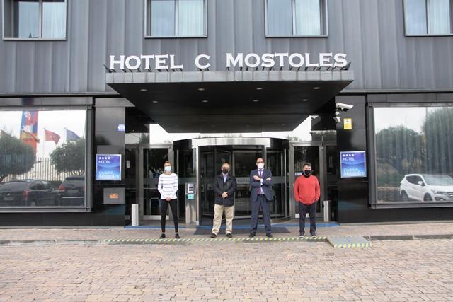Hotel Ciudad de Móstoles patrocinador del FS Femenino Móstoles