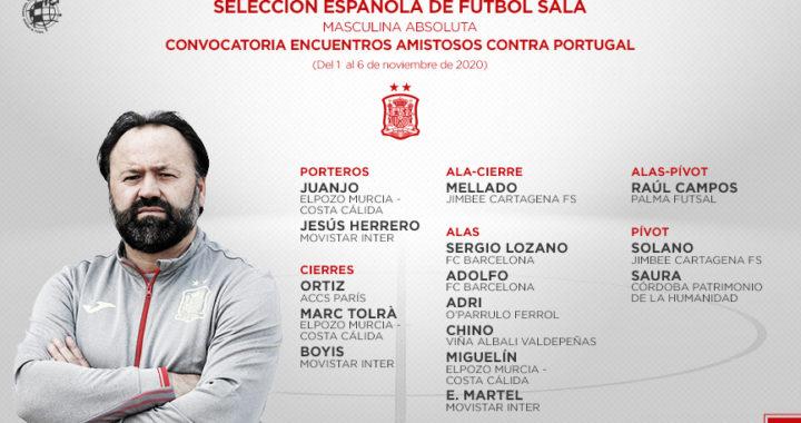 Fede Vidal da la lista de la Selección para los partidos contra Portugal