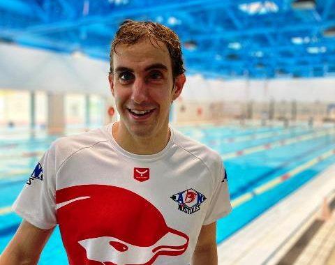 El nadador mostoleño Jose Ramón Cantero prepara en Sierra Nevada los juegos de Tokio