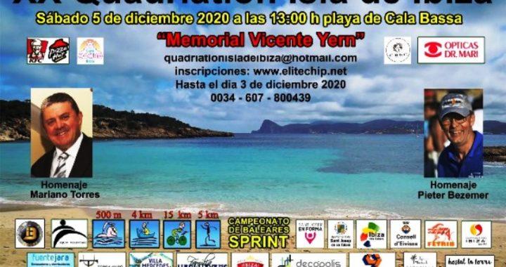 XX Quadriatlon Isla de Ibiza