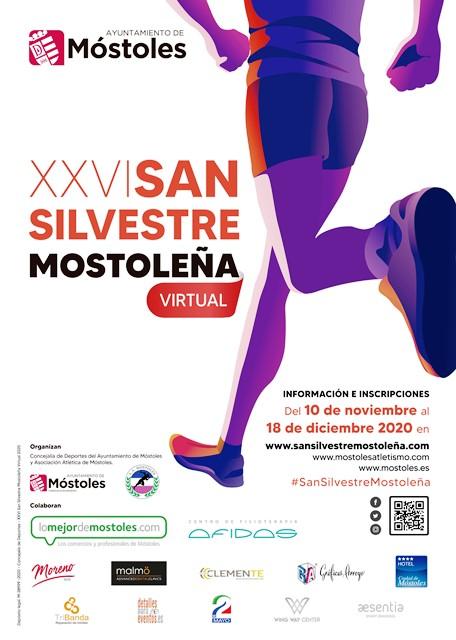 XXVI San Silvestre Mostoleña Virtual 2020