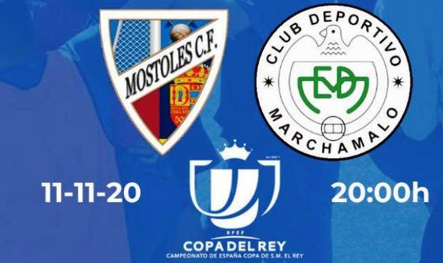La Real Federación Española de Fútbol cita al Mostoles CF y al Marchamalo para el partido oficial de eliminatoria de la Copa del Rey.