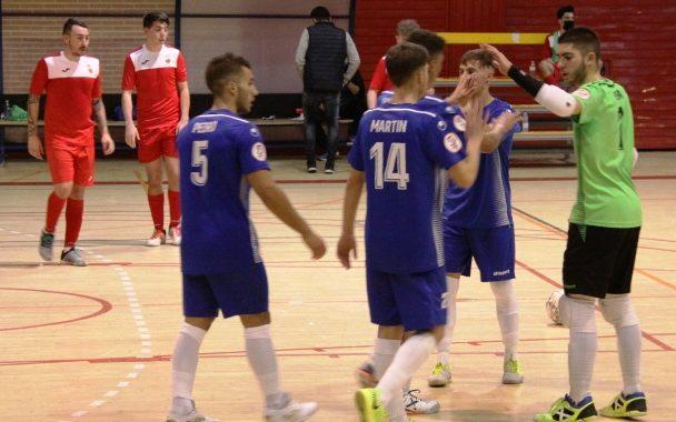 El Ciudad de Móstoles FS derrota por goleada a la EMFS Torrejón de la Calzada (12-1)