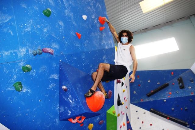 En el rocódromo Chango Climbing de Móstoles practicamos deporte seguro