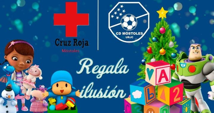 El CD Móstoles URJC y la Cruz Roja de Móstoles, regalaran juguetes por navidad