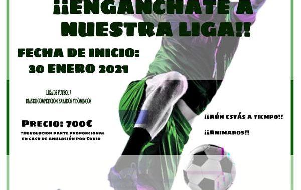 Engánchate a la Liga de Fútbol-7 del CD Estoril-II