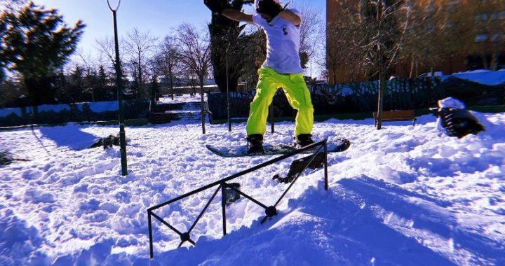 Dani León del skate al snowboard