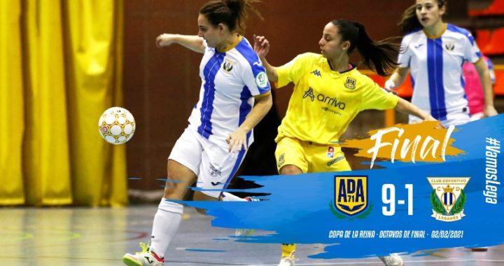 Concluyen los octavos de final de la Copa de S.M. la Reina de Fútbol Sala Femenino