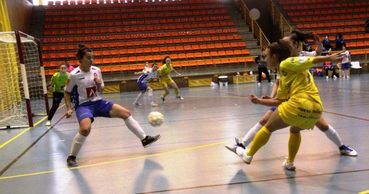 La AD Alcorcón FS bate por 3 goles a 2 a un luchador Rayo Majadahonda.