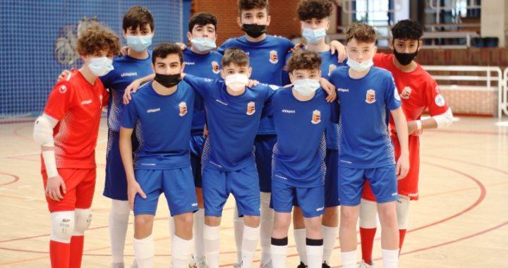 Los equipos base del Ciudad de Móstoles FS muestran su formación con poderío goleador