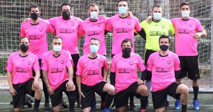 El Movilcenter lidera la Liga de Fútbol 7 del CD Estoril-II