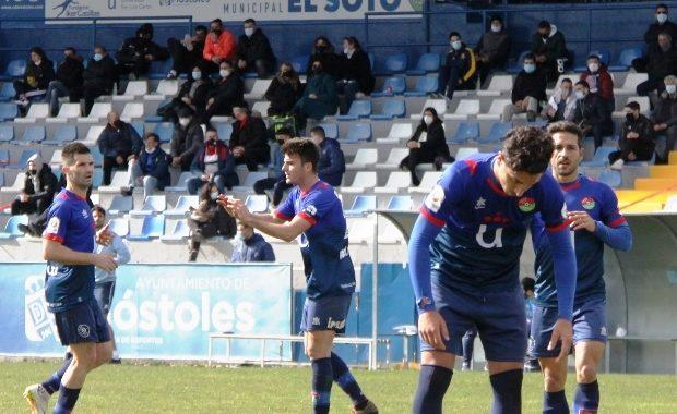 El CD Móstoles URJC cae derrotado por primera vez en la temporada ante el Leganés 'B' (0-1)