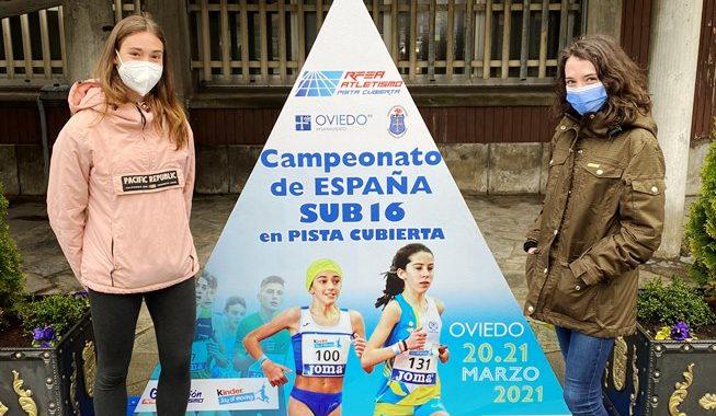Campeonato de España sub16 de Pista cubierta en Oviedo