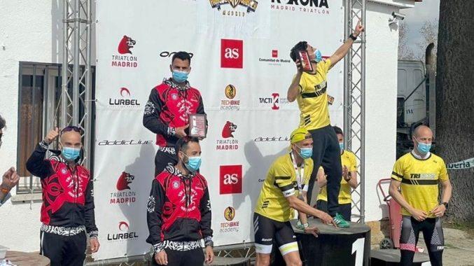 Tri Infinity Móstoles, logra el Subcampeonato de Madrid por equipos de duatlón de larga distancia