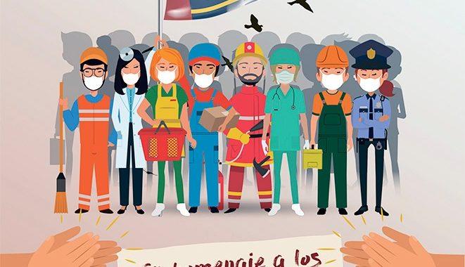 """2 de Mayo""""En homenaje a los héroes de la Covid-19″"""