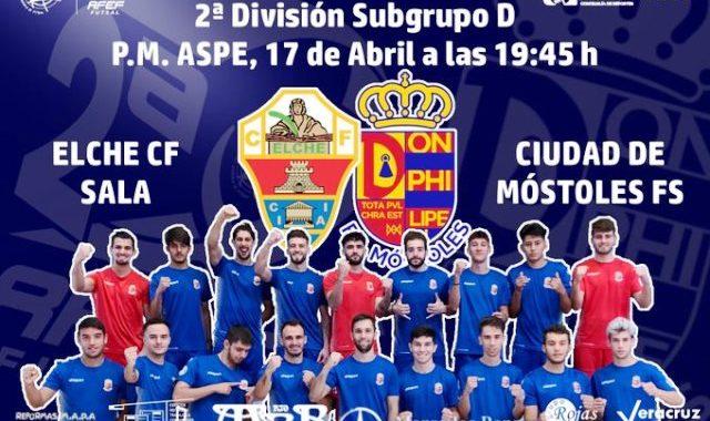 CDE Ciudad de Móstoles Fútbol Sala, agenda del fin de semana