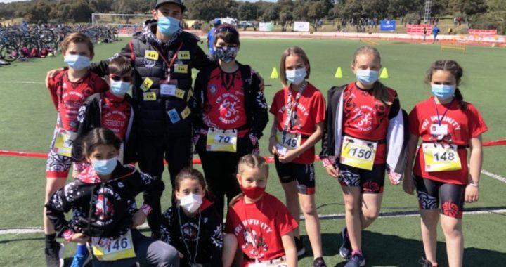 La Escuela del Club Tri Infinity en el Campeonato de Madrid de Duatlón Cross