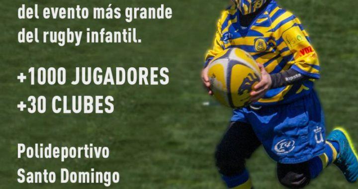 El 22 de mayo Alcorcón acogerá el Festival Infantil de Rugby de la Comunidad de Madrid