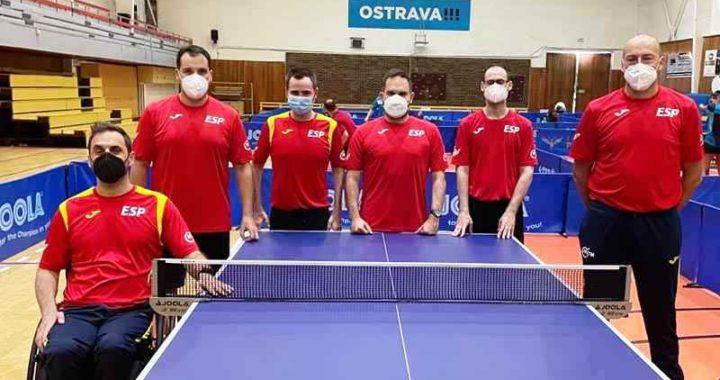 Cuatro españoles preparan los Juegos Paralímpicos en el Czech Para Open 2021
