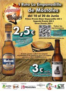Del 10 al 20 de junio, I- Ruta La Empanadilla de Móstoles
