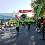 Un total de 500 personas participan en la carrera contra el cáncer en Móstoles