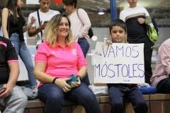 """""""Leal y fiel"""" así es la afición del FS Ciudad de Móstoles"""""""