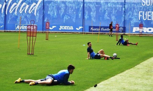 El CF Fuenlabrada inicia los entrenamientos tras dos meses parados