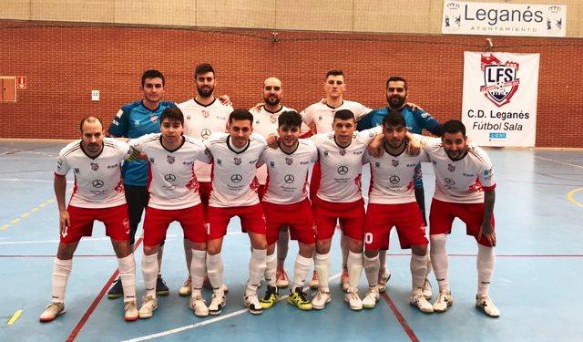 FÚTBOL SALA   El CD Leganes FS se proclama campeón del Grupo IV de Segunda División B, sin finalizar la temporada