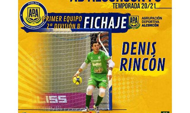 La AD Alcorcón Fútbol Sala, ficha a Denis Rincón