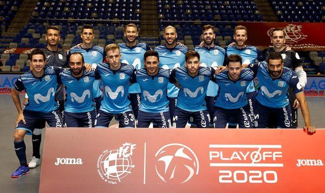 CRÓNICA   El Movistar Inter FS derrota por 3-1 al Jaén Paraíso Interior.