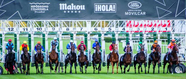 Llegan las carreras al Hipódromo de Madrid